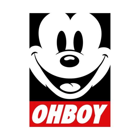 obey mickey mouse www pixshark images galleries