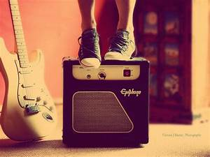amplifier, guitar, photography, shoes, sneakers - image ...