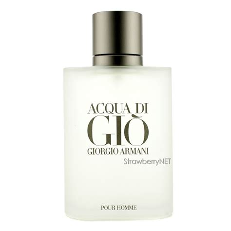 giorgio armani acqua di gio eau de toilette spray for 100ml 3 4oz 3360372058878 ebay