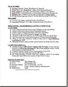 cv format for freshers bcom pdf editor resume format for bcom students
