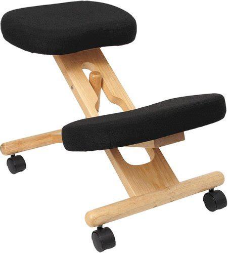 wooden ergonomic kneeling posture office chair review