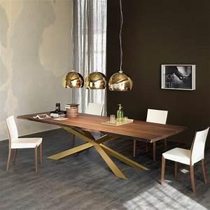 Pendelleuchte Für Langen Tisch : modernes esstisch design von cattelan italia stahlfu ~ Michelbontemps.com Haus und Dekorationen