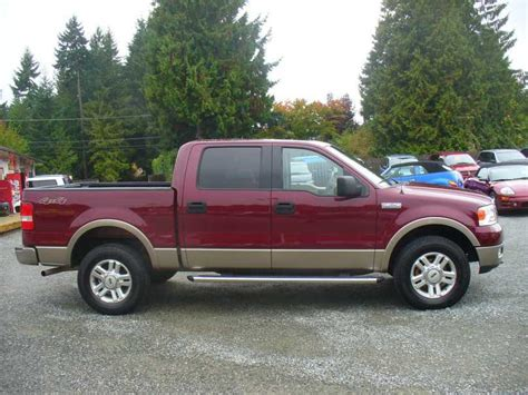 2004 Ford F150 Crew Cab Lariat Leather Malahat (including