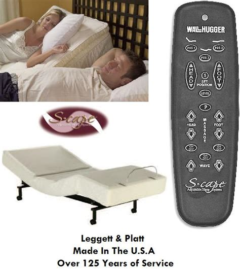 leggett and platt adjustable bed remote xl leggett platt scape adjustable foundation