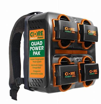 Power Core Outdoor Gasless Quad Trimmers Handheld