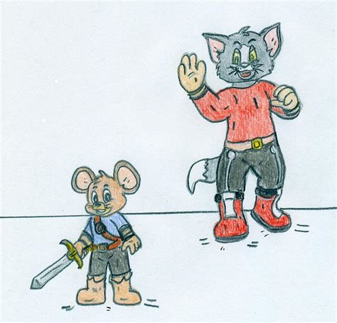 Little Tom And Jerry Mii Fighters By Jose Ramiro On