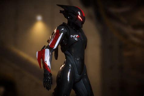 biowares anthem features mass effect armor  polygon
