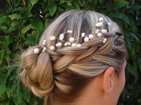 braided wedding hairstyle onewed com
