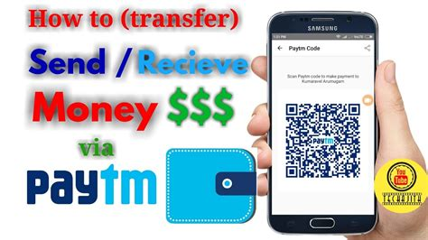 how to use paytm app how to send or receive money complete tutorial by techajith