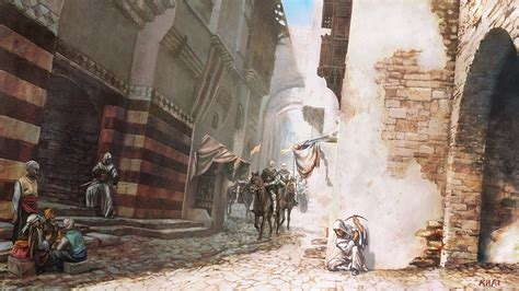 Assassins Creed I Early Concept Art Gematsu