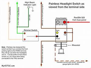 Wiring Question For American Autowire Headlight Switch
