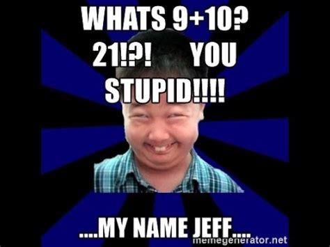Jeff Meme - reviving a dead meme my nama jeff youtube