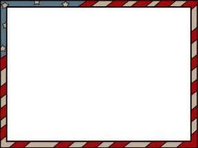 Flag Border Clip Art for Microsoft Word