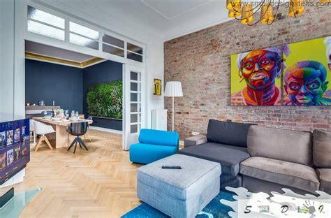 loft german apartment interior decorating ideas