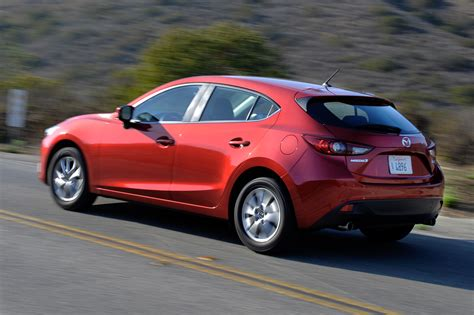 mazda small car 2014 mazda3 review best tech compact is also the best