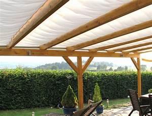 Sonnenschutz Terrasse Seilzug : sonnenschutz mit einer pergola ~ Whattoseeinmadrid.com Haus und Dekorationen