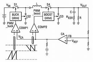 buck boost converters help extend battery life digikey With buck boost circuit