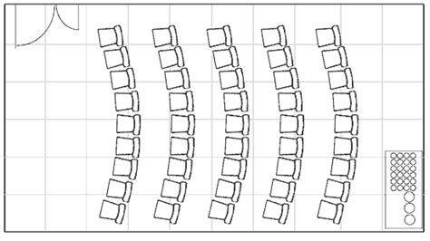 Theatre Style Seating Plan Template by Meetings And Conferences Room Hire Attenborough Nature