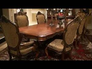 Seat Beauvais : chateau beauvais rectangular trestle dining table by michael amini furniture youtube ~ Gottalentnigeria.com Avis de Voitures