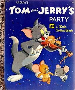 περιπλάνηση: Tom and Jerry's Party, A Little Golden Book