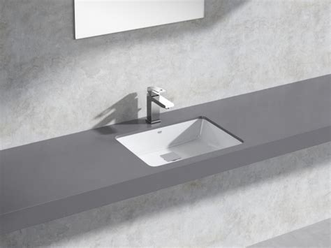 cube  counter basin  set  model grohe germany