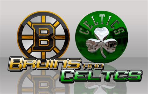 Boston Bruins Logo Wallpaper Sports Report Bruins And The Celtics Are Catching Fire Mhsmustangnews Com
