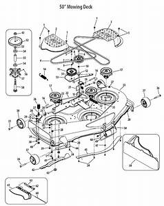 Cub Cadet Ltx 1050 Belt Diagram