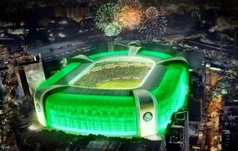 Futebol no Mundo.: Ao som do hino, jogadores do Palmeiras ...