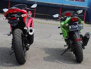 Komparasi Dimensi Ninja 250r Karbu Dan Ninja 250