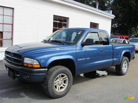 Dodge Dakota Sport by 2002 Atlantic Blue Pearl Dodge Dakota Sport Club Cab 4x4
