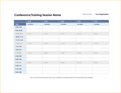 meeting agenda template excel 3 meeting schedule template divorce document