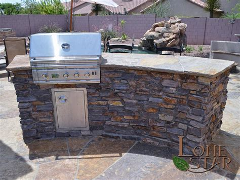 Backyard Built In Bbq by Landscape Entertainment Features Image Gallery