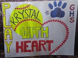 Softball poster sports poster ideas pinterest volleyball softball pitching machine and for Softball poster ideas