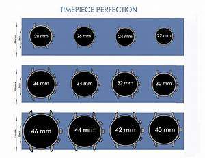 Super Helpful Watch Size Guide And Printable Chart