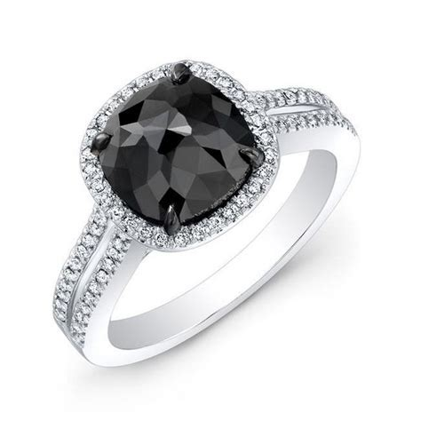 Black Diamond Rings For Women 5   Life n Fashion