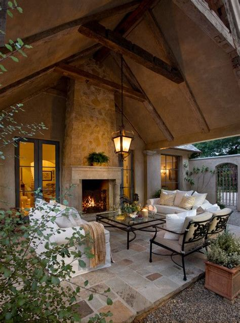 beautiful covered patio home