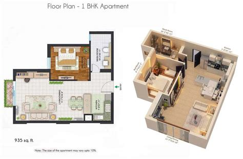 1 Rk Home Design : Creative Small Studio Apartment Floor Plans And Designs