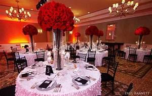 Black, White, Red Wedding on Pinterest   Red Black, White ...