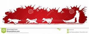 Snow Dog Running Cartoons, Illustrations & Vector Stock ...