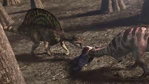 Image - 1x1 SpinosaurusFightingCarcharodontosaurus.png ...