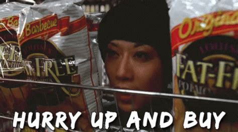 Menace To Society Meme - hurry up and buy don t be a menace gif hurry discover share gifs