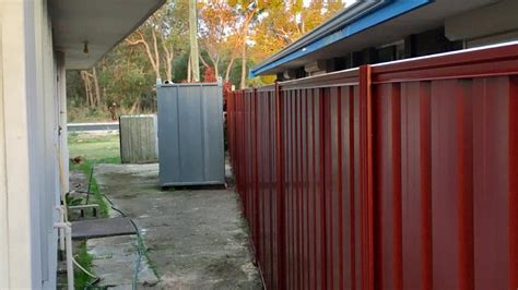 colorbond fencing  works maximum fencing mandurah