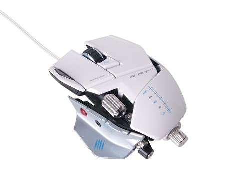 Mad Catz Rat 9 Wireless Mouse White Gaming Mus