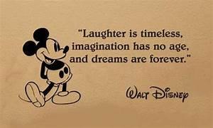 8 Walt Disney Q... Laughing Disney Quotes