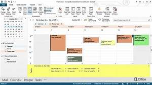 Outlook 2013 Template Email Microsoft Office 365 Outlook 2013 Calendar Training