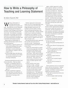 Personal Statement Examples Primary Education