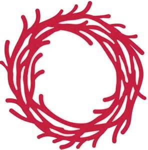 sue wilson christmas dies rustic twig wreath ced3055 123stitch com