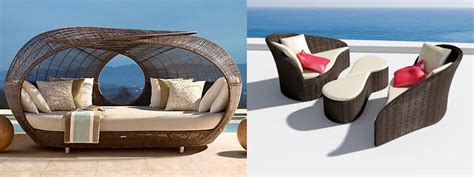 cushions from a contemporary patio furniture sale