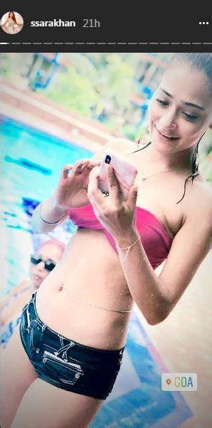 sara khans bikini pictures  giving  major vacation