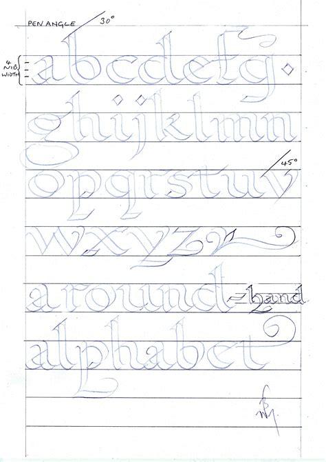Cursive Calligraphy  Cursive Letters